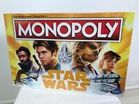 NEW Disney Star Wars Han Solo Monopoly Hasbro Gaming Board Game