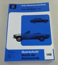 Reparaturanleitung / Handbuch Fiat 124 Sport - Spider und Coupe - Bucheli Verlag