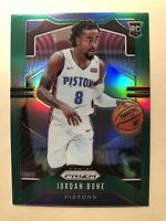 2019-20 Panini Prizm Jordan Bone Green Prizm SP Rookie Card #291 - MINT! RARE!!