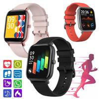Smart Watch Herzfrequenzmesser Schritte Zähler Sport Armband für iPhone Android