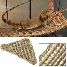 New listing Reptile Hammock Lizard Lounger Bearded Tank Decoration Platform Hanging Net #Us