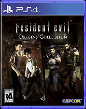 Resident Evil Origins Collection (Sony PlayStation 4)