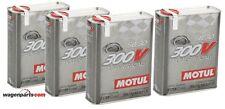 15 /l aceite de motor 2 litros 300v 5w-30 Motul totalmente Sintético 104241