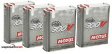 Aceite Motor MOTUL 300V Power Racing 5W30, 8 Litros  (Especial Tuning Carreras)