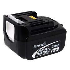 Akku für Werkzeug Makita BTD130F 3000mAh Original 14,4V 3000mAh/43Wh Li-Ion Schw