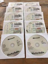 Word 2000 SR1 in Works Suite 2001 OEM CD Vollversion in Deutsch, MwSt Rechnung