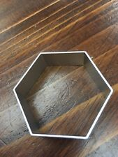 Hexagon Metal Cookie Cutter Biscuit Pastry Cake Baking,Icing, Football