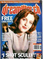 DREAMWATCH - UK MAGAZINE - TV SF/FANTASY - GILLIAN ANDERSON  - JUNE 1996 # 22