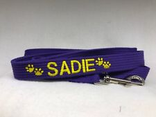 Just Pawfect 1.2m embroidered personalised  Dog Lead/Leash