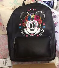 BNWT Primark DISNEY Minnie Mouse backpack Floral Rucksack Back Pack Mickey