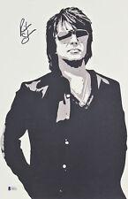 Richie Sambora Bon Jovi Authentic Signed 11x17 Lithograph BAS #E44253