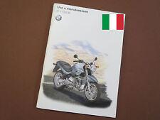BMW R1150R Uso e manutenzione Istruzioni per l'uso