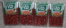 Lot of 4 PACKS TIC TAC APPLE PIE LIMITED EDITION CANDY 1oz each Discontinued