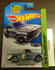 Custom '69 Chevy Pickup #217 * ZAMAC * 2013 Hot Wheels Y30