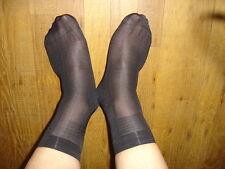 Lot 6 P chaussettes men's socks sheer T-39/42 nylon Ref :CM01