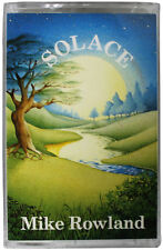 MIKE ROWLAND Solace CASSETTE TAPE 1983 1st UK Pressing FR026 80s New Age EX / NM