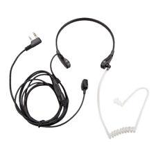 Throat Mic Earpiece Headset Finger PTT For Baofeng UV5R 888s Radio Walkie Talkie