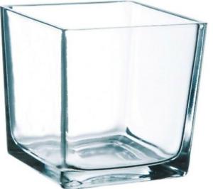 10cm Clear Glass Cube Vase Square Vase Flower Vase Home Decor Wedding