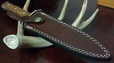Western Style Hunting Bowie Knife Dagger W/ Sheath Case !