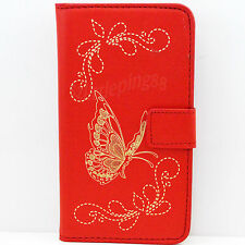 HOT Leather Skin Phone Wallet Magnetic Full Case Cover Protective For HTC ONE M8