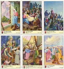 Figurine Lavazza serie n°50 La Vita di Gesù I ANNO 1952 Chromo