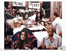 Vintage John Lennon&Yoko Poster /1960's/'Give Peace A Chance' /Reproduction