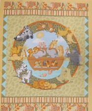 El Arca De Noé dos de un tipo panel 100% algodón tejido por Resortes
