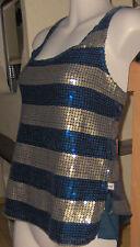 Glamour - Top Pailetten - Shirt Hollister gr XS  Eyecatcher Party - look