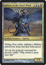 x1 Sphinge du Vent d'acier (Sphinx of the Steel Wind) COMMANDER VO MAGIC MTG ★★★