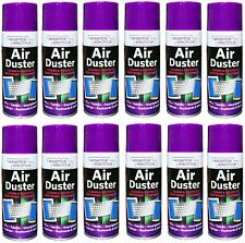 2 x AIR DUSTER SPRAY 200ML COMPRESSED AIR DUSTER CAN CLEANING SPRAY HOME WORK