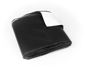 Vinyl Tarp 13 oz 15 Mil Heavy Duty Waterproof PVC Tear-Proof Cover