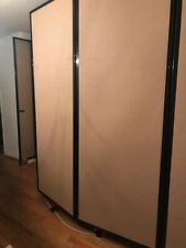 "Versare 360 Wall mountable Room divider, Beige, 7'6""H x 14'L, perfect condition"