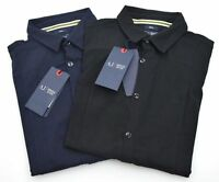ARMANI JEANS MAN POLO SHIRTS CASUAL AUTUMN LONG SLEEVE COTTON CODE B6C80