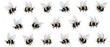 "1 Bumble Bee Bumblebee Wrap  7-1/2"" X 3-1/4"" Waterslide Ceramic Decal Ox"