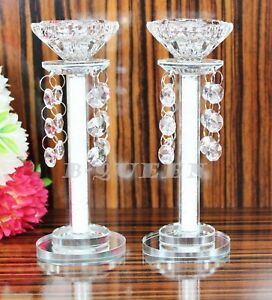 Crystal Cut T-Light & Candlestick Holder  SwarovskiElement Mother's day Gift box