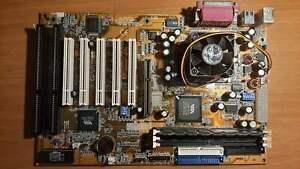 Gigabyte GA-6VXE7+  - CPU Pentium III - 128MB RAM