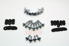 Honda CBR 600RR 2003-2006 CBR 1000RR 2004-2007 Aluminum FAIRING BOLT KIT SILVER