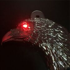 "Chrome Eagle horn cover w/ LED For 92-16 Harley ""cowbell"" and all V-rod's"
