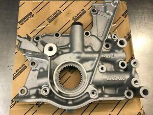 Genuine OEM Toyota 2JZGTE Oil Pump - 15100-46052 - Supra, Aristo