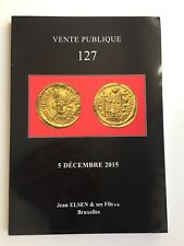 JEAN ELSEN COIN AUCTION CATALOG VENTE PUBLIQUE 127 DEC 2015 ANCIENT WORLD MEDALS