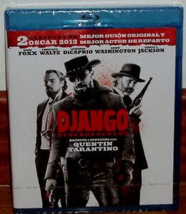 Django Unchained Blu-Ray New Sealed Drama Aventuras (Sleeveless Open) R2