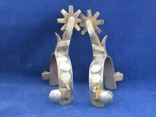 New ListingVintage Pair Of Single Mounted Hand Crafted Spurs Marked Boone