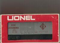 Lionel Erie Lackawana Box Car O'Scale 6-9043