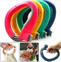 New One Trip Grip Shopping Grocery Bag Grip Holder Handle Lock Carrier Tool KZY