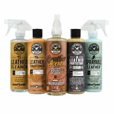 Leather Care Kit Car Treatment Cleaner Conditioner Restorer Scent Lovers Gift