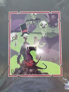 NEW Disney Wonderground Villain 'Dr. Facilier' By Artist Spudonkey Print 18 x 14