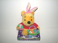 Fisher Price Easter Bunny Winne the Pooh Plush Stuffed Doll MIB 1999