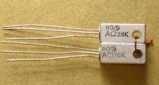 25 coppie ac128k/ac176k germanio transistor Tungsram OVP