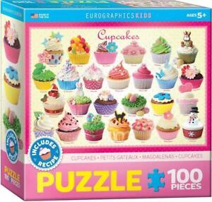 EurographicsKids Jigsaw Puzzle;  Cupcakes;  100 pcs;  6100-0519