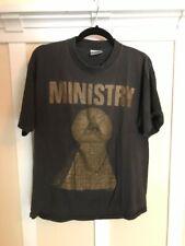Vintage MINISTRY T-shirt 1992 Psalm 69 tour shirt lollapalooza